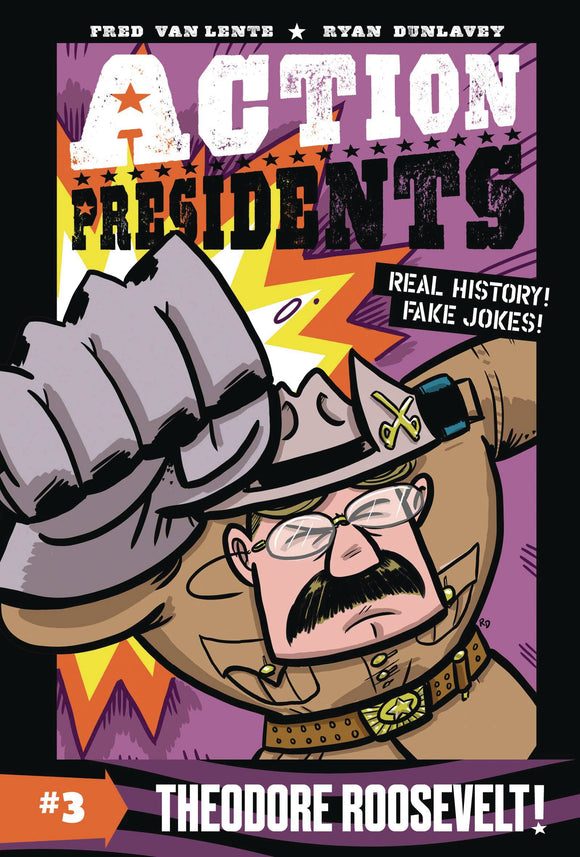 Action Presidents Color Sc Gn Vol 03 Theodore Roosevelt Graphic Novels published by Harper Alley