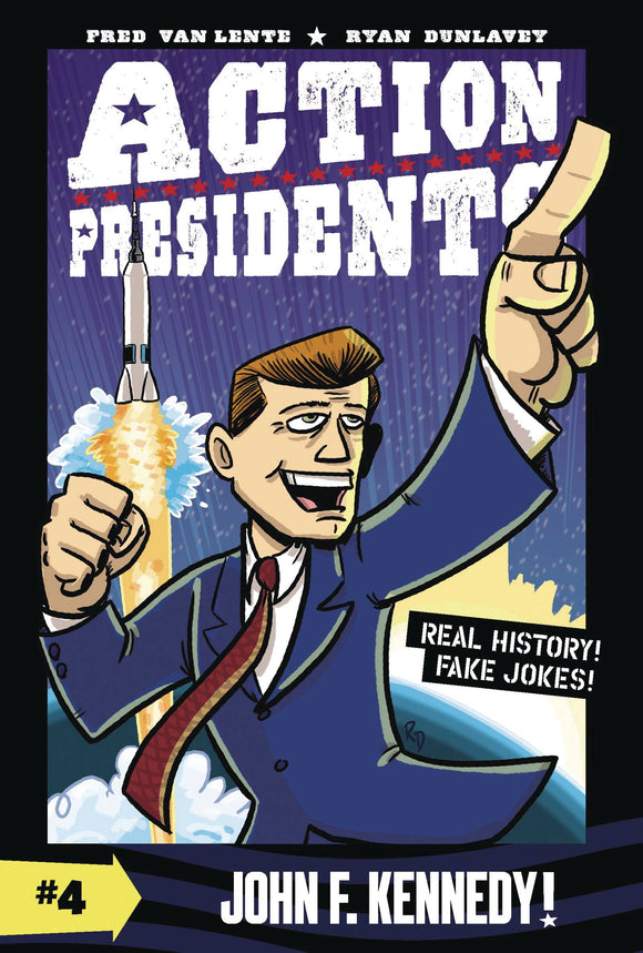 Action Presidents Color Sc Gn Vol 04 John F Kennedy Graphic Novels published by Harper Alley