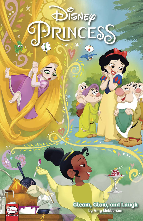 Disney Princess Gleam Glow & Laugh (Paperback) Graphic Novels published by Dark Horse Comics