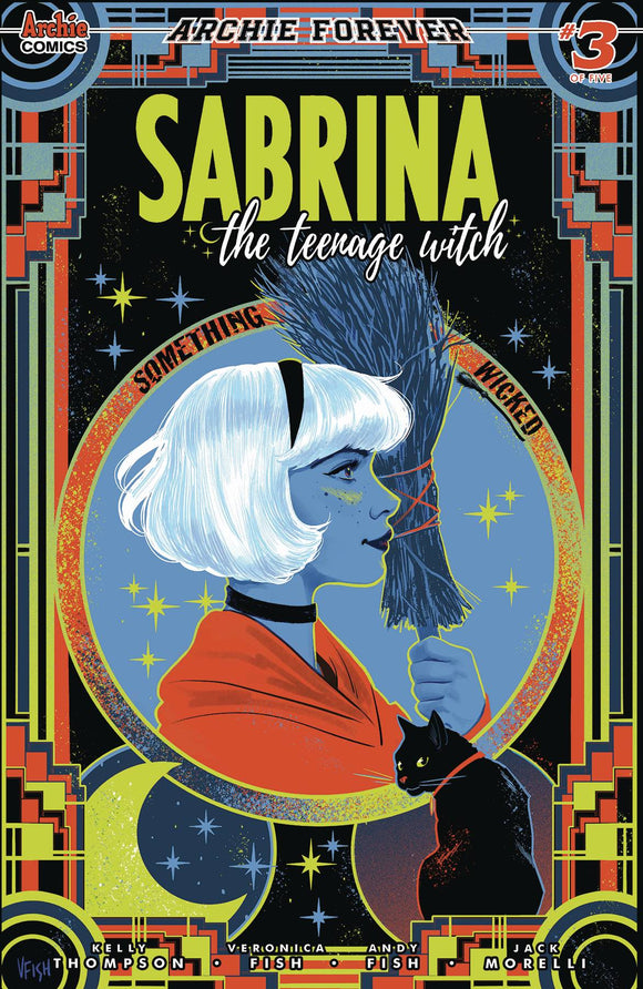 Sabrina The Teenage Witch Something Wicked (2020 Archie) #3 (Of 5) Cvr A Fish (NM) Comic Books published by Archie Comic Publications