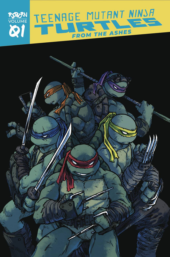 Tmnt Reborn (Paperback) Vol 01 From The Ashes Graphic Novels published by Idw Publishing