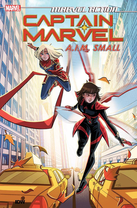 Marvel Action Captain Marvel (Paperback) Vol 02 Aim Small Graphic Novels published by Idw Publishing