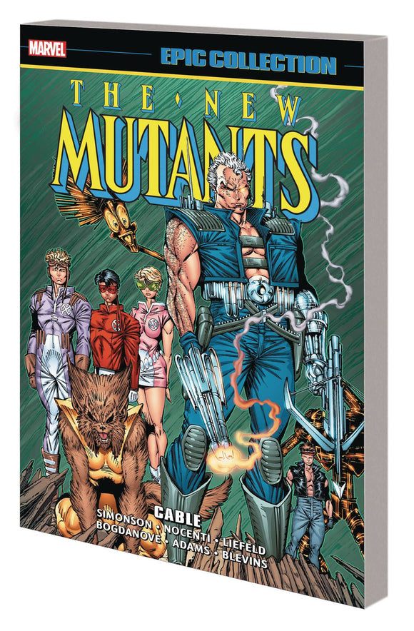 New Mutants Epic Collection (Paperback) Cable Graphic Novels published by Marvel Comics