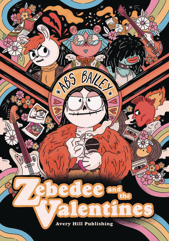 Zebedee & Valentines Gn Graphic Novels published by Avery Hill Publishing