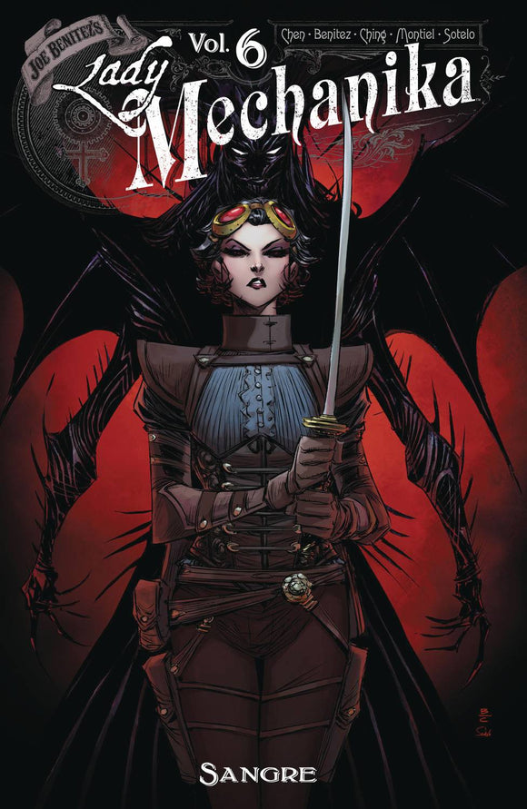 Lady Mechanika (Paperback) Vol 06 Sangre Graphic Novels published by Benitez Productions