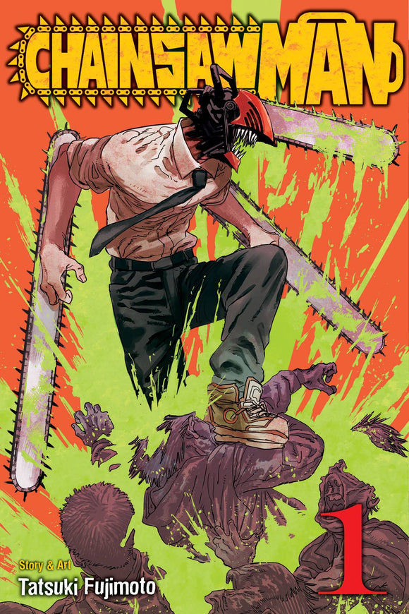 Chainsaw Man Gn Vol 01 Manga published by Viz Media Llc