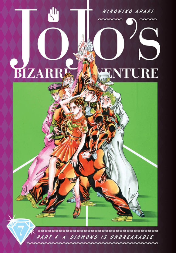 Jojos Bizarre Adv 4 Diamond Is Unbreakable (Hardcover) Vol 07 Manga published by Viz Media Llc