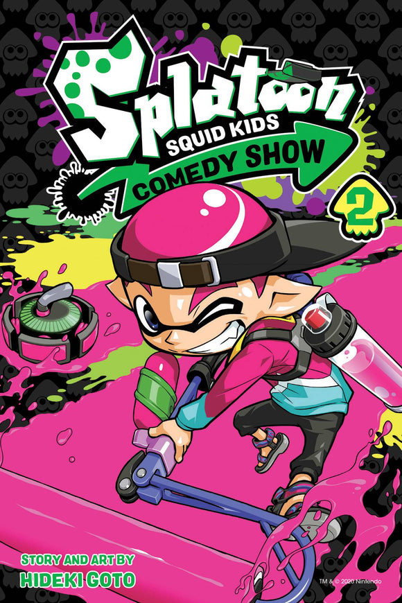 Splatoon Squid Kids Comedy Show Gn Vol 02 Manga published by Viz Media Llc