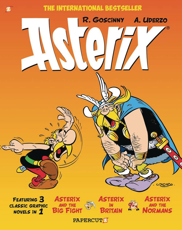 Asterix Omnibus Papercutz Ed Sc Vol 03 Graphic Novels published by Papercutz