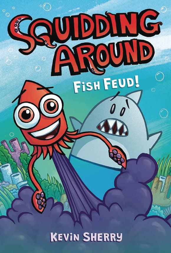 Squidding Around Gn Vol 01 Fish Feud Graphic Novels published by Graphix