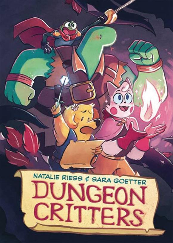 Dungeon Critters Graphic Novel (Paperback) Graphic Novels published by :01 First Second