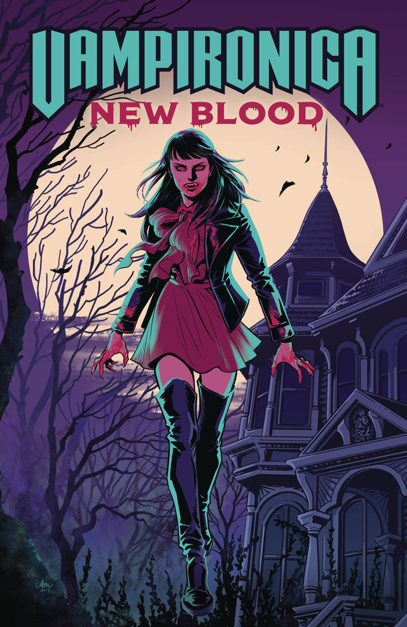 Vampironica New Blood (Paperback) Graphic Novels published by Archie Comic Publications