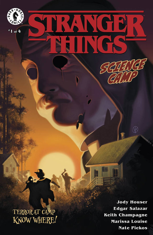 Stranger Things Science Camp (2020 Dark Horse) #1 (Of 4) Cvr A Kalvachev Comic Books published by Dark Horse Comics