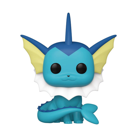 Pop Games Pokemon Vaporeon Vinyl Figure Collectibles, Figures & Toys published by Funko