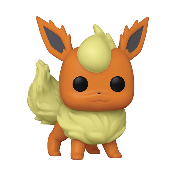 Pop Games Pokemon Flareon Vinyl Figure Collectibles, Figures & Toys published by Funko