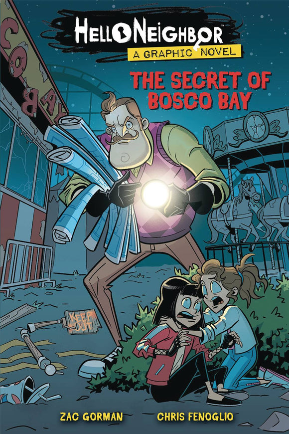 Hello Neighbor Gn Vol 01 Secret Of Bosco Bay Graphic Novels published by Scholastic Inc.