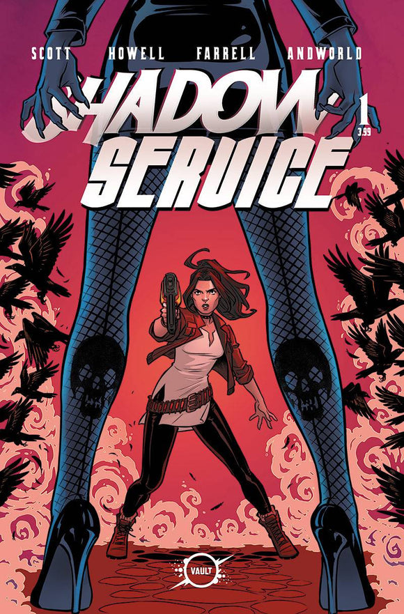 Shadow Service (2020 Vault Comics) #1 Cvr C Isaacs (NM) Comic Books published by Vault Comics