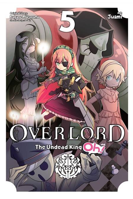 Overlord Undead King Oh Gn Vol 05 Manga published by Yen Press