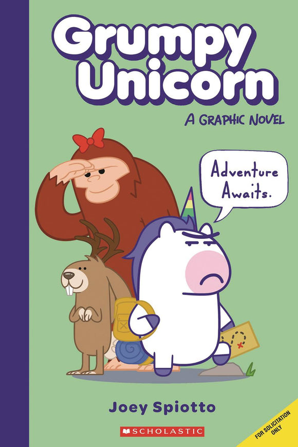 Grumpy Unicorn Gn Vol 01 Hits The Road Graphic Novels published by Graphix