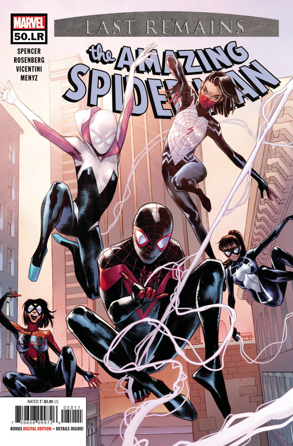 Amazing Spider-Man (2018 Marvel) (6th Series) #50.Lr Comic Books published by Marvel Comics