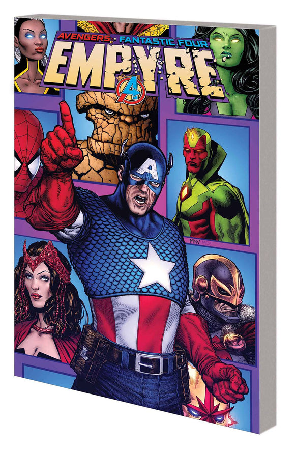 Empyre Captain America And Avengers (Paperback) Graphic Novels published by Marvel Comics