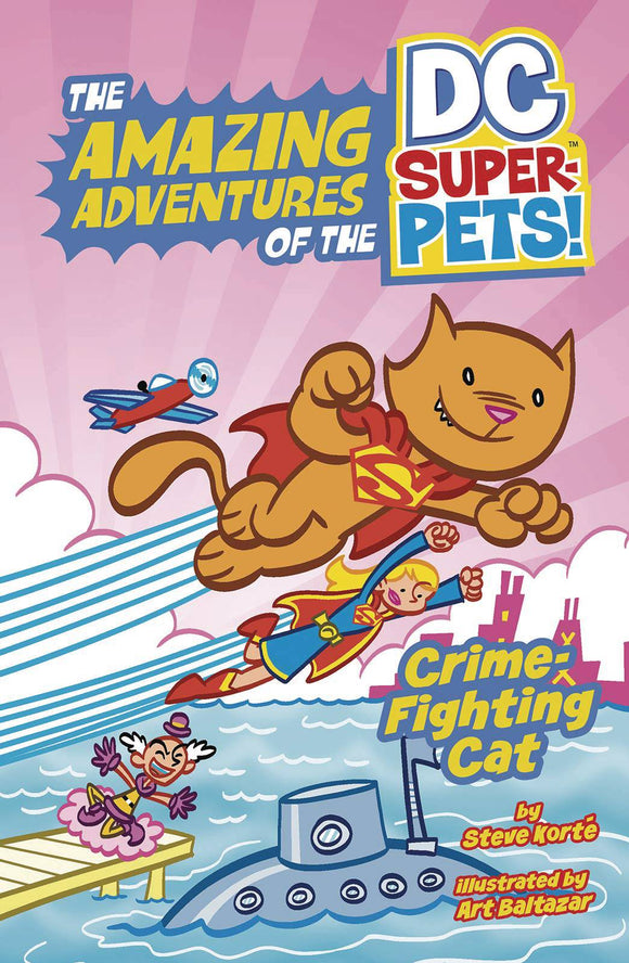 Dc Super Pets Yr (Paperback) Crime Fighting Cat Graphic Novels published by Dc Comics