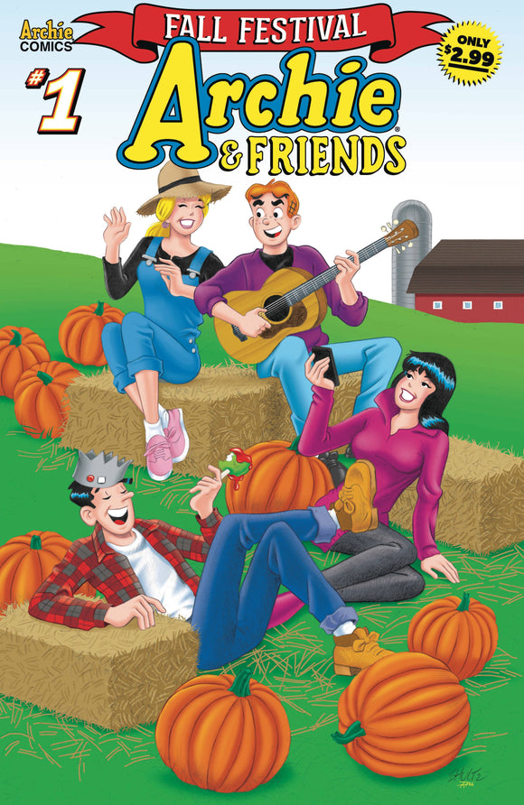 Archie And Friends Fall Festival (2020 Archie) #1 Comic Books published by Archie Comic Publications
