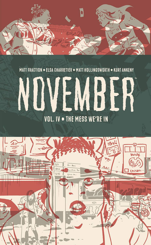 November (Hardcover) Vol 04 (Mature) Graphic Novels published by Image Comics
