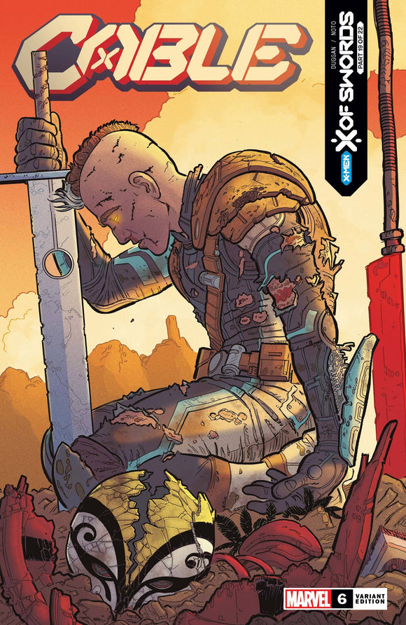 Cable (2020 Marvel) (5th Series) #6 Skroce Variant Xos Comic Books published by Marvel Comics