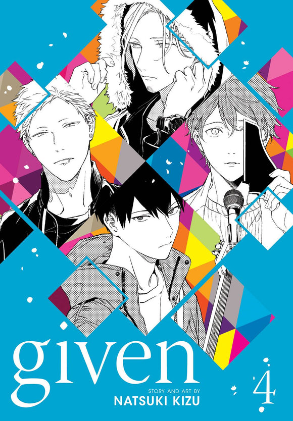 Given Gn Vol 04 Manga published by Sublime