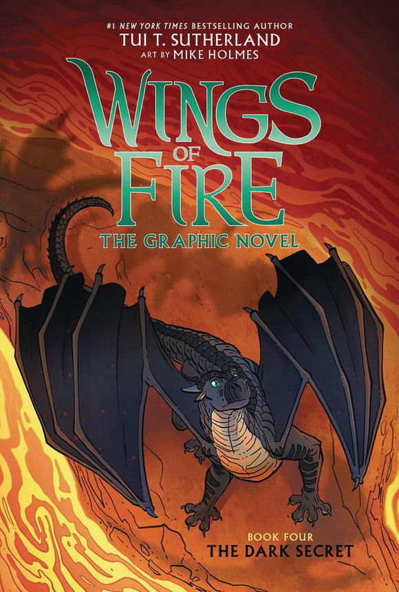 Wings Of Fire Sc Gn Vol 04 Dark Secret Graphic Novels published by Graphix
