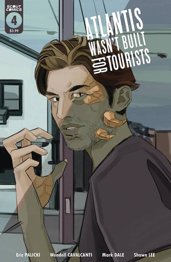 Atlantis Wasn't Built for Tourists (2020 Scout Comics) #4 Comic Books published by Scout Comics