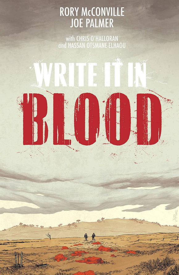 Write It In Blood (Paperback) (Mature) Graphic Novels published by Image Comics