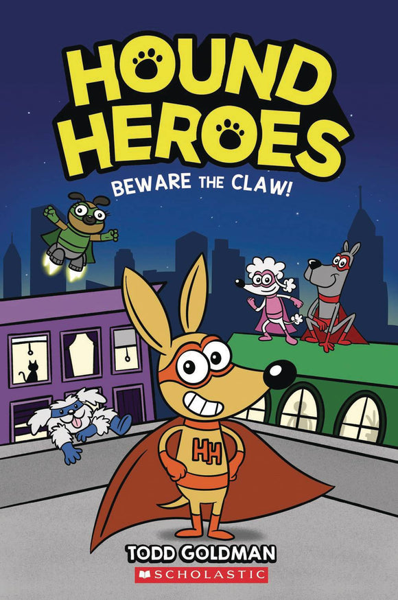 Hound Heroes Sc Gn Vol 01 Beware The Claw Graphic Novels published by Graphix