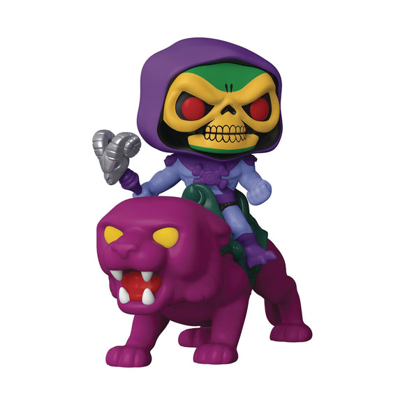 Pop Rides Motu Skeletor On Panthor Vinyl Figure Collectibles, Figures & Toys published by Funko