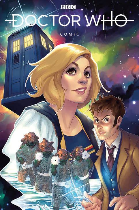 Doctor Who Comics (2020 Titan) #3 Cvr A Hetrick Comic Books published by Titan Comics