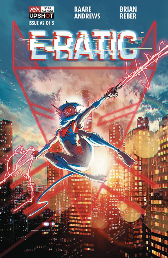 E-Ratic (2020 AWA) #2 Comic Books published by Artists Writers & Artisans Inc