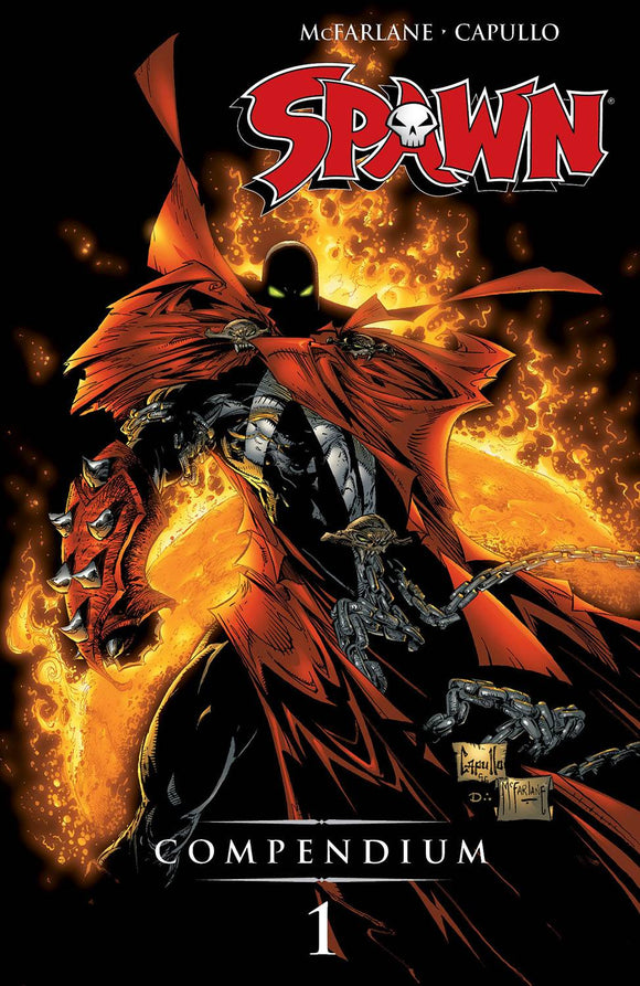 Spawn Compendium (Paperback) Vol 01 (New Edition) (Mature) Graphic Novels published by Image Comics