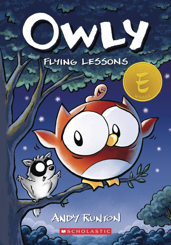 Owly Color Ed Gn Vol 03 Flying Lessons Graphic Novels published by Graphix