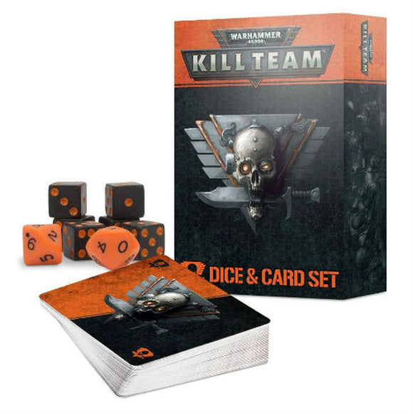 Kill Team Card And Dice Set Games Workshop published by Games Workshop