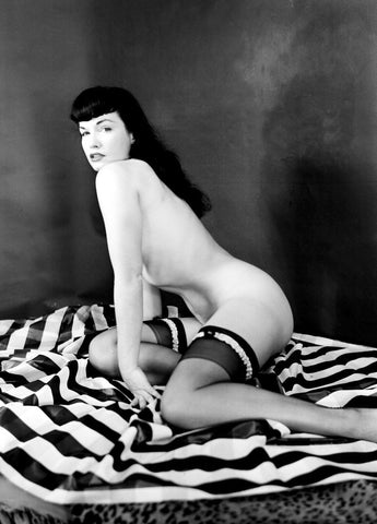 BETTIE PAGE pinup nude 12 8x10