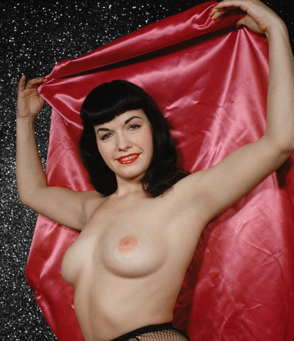 BETTIE PAGE pinup nude 14 8x8