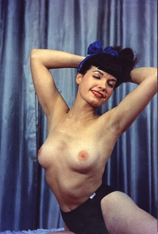 BETTIE PAGE pinup nude 16 8x10