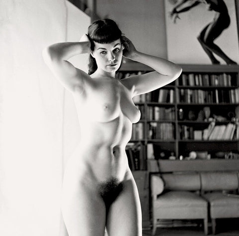 BETTIE PAGE pinup nude 18 8x8