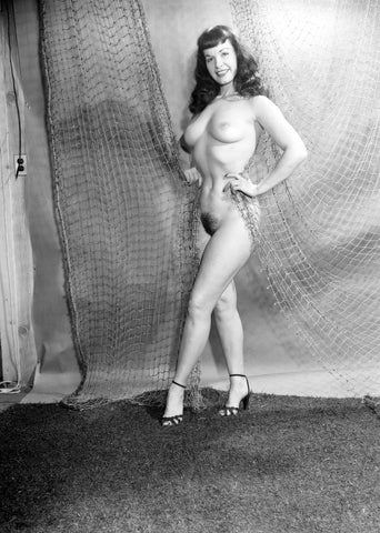 BETTIE PAGE pinup nude 1 8x10