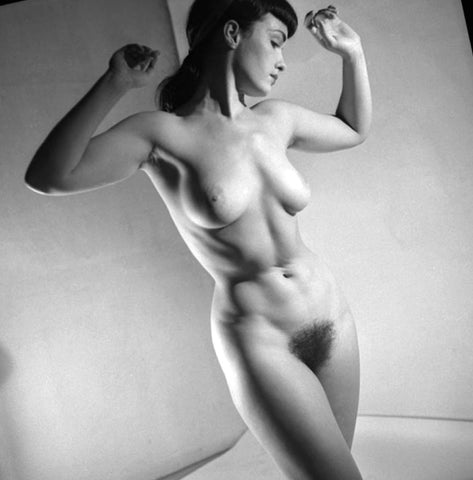 BETTIE PAGE pinup nude 21 8x8