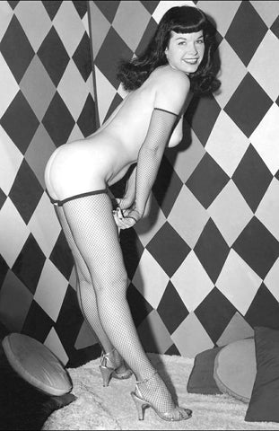 BETTIE PAGE pinup nude 26 8x10