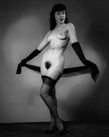 BETTIE PAGE pinup nude 27 8x10