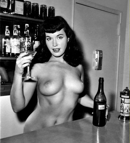 BETTIE PAGE pinup nude 29 8x8