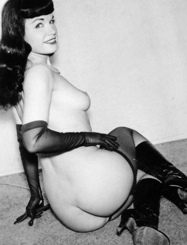 BETTIE PAGE pinup nude 30 8x10